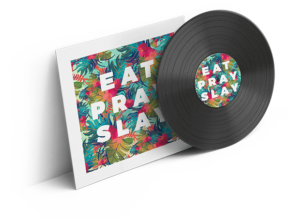 eat pray slay cd cover