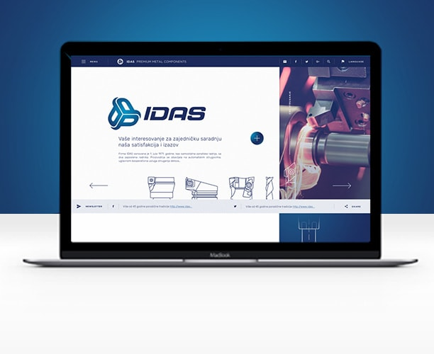 Idas website thumb