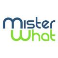 misterwhat logo