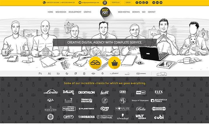 PopArt Studio za web i grafički dizajn