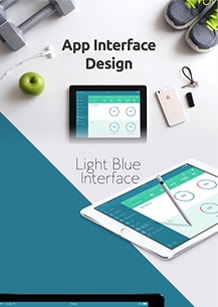 App interface design