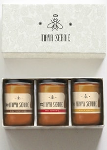 Maya Serbie honey label