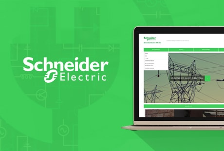 Schneider Electric web presentation