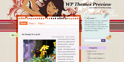 besplatne teme za wordpress - black pearl