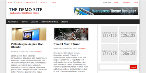 besplatne teme za wordpress - the web news theme