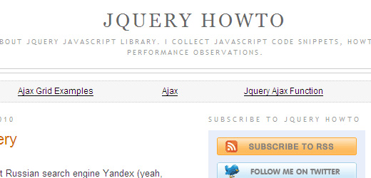 105 10 Of The Best jQuery Tutorial Websites