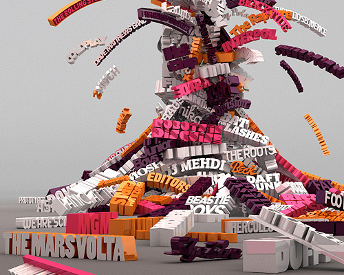70 Wonderful 3D Typography That Truely Inspires
