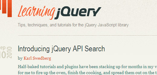 35 10 Of The Best jQuery Tutorial Websites
