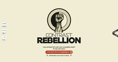 Contrast Rebellion
