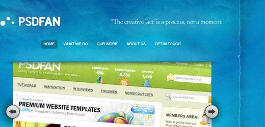 67 10 Of The Best Photoshop Website Layout Tutorials