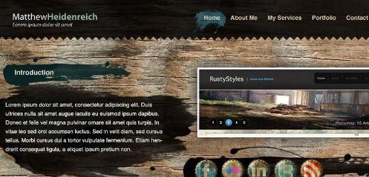 87 10 Of The Best Photoshop Website Layout Tutorials