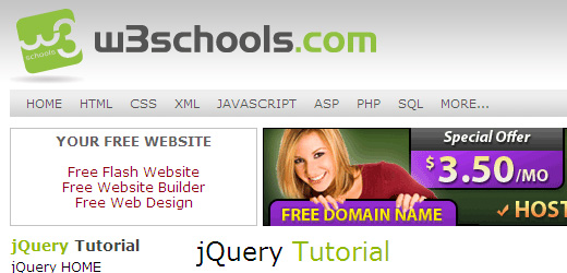 95 10 Of The Best jQuery Tutorial Websites