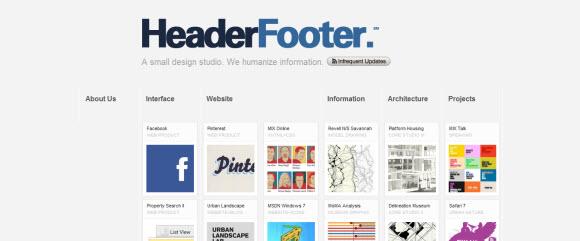 Header Footer