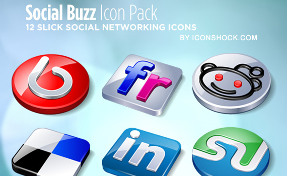 Social Buzz Icon Pack Social media icons Social Media Icons Part 2 – 300 Icons