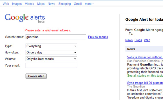 Alerts-google-products-didnt-know-about