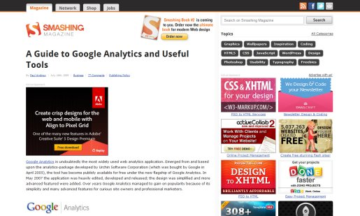 Useful Analytics Tips and Resources for Designers and Marketers