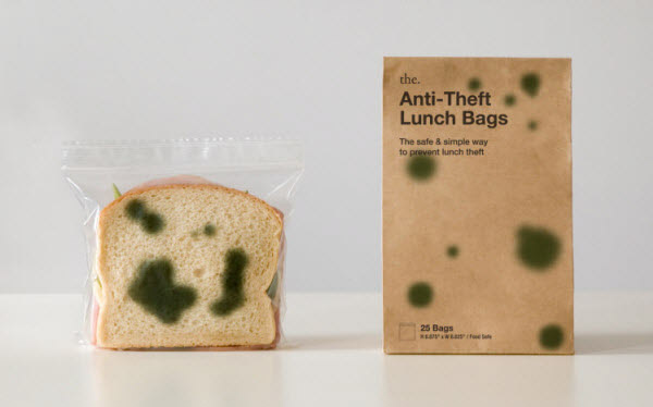 anti theft lunch bag 36 Clever (and Quirky) Packaging Designs