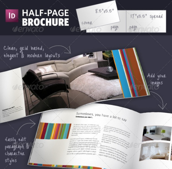 35 odli nih dizajna bro ura for Pop up brochure template