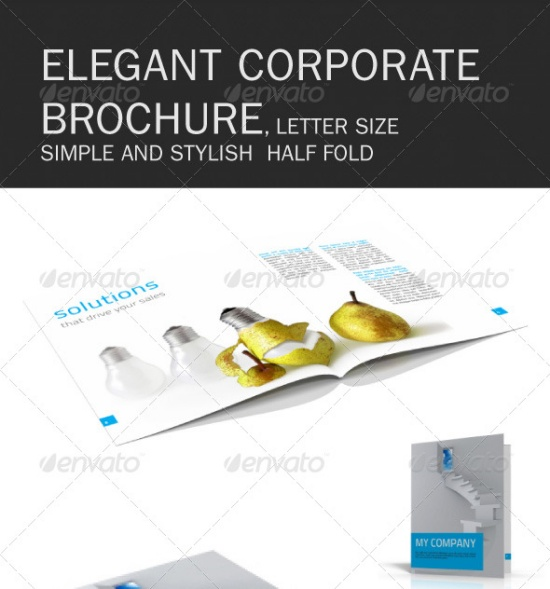 Clean and Elegant Corporate Brochure