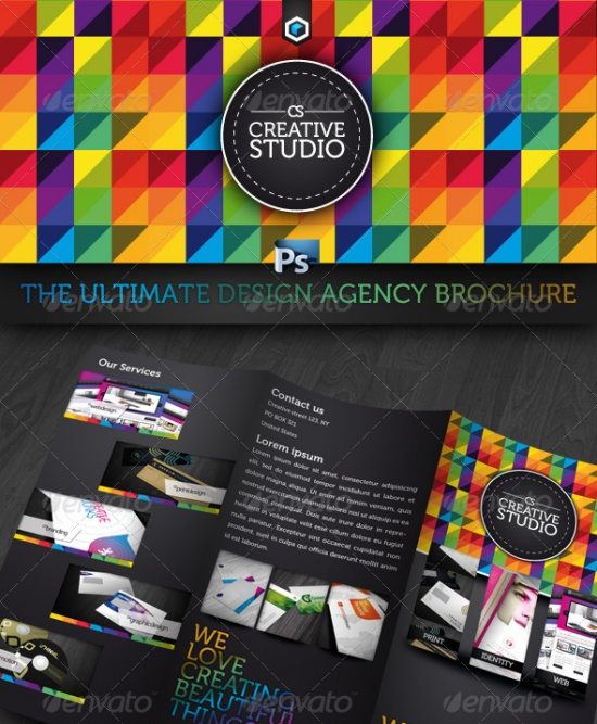 Ultimate Creative Studio Trifold Brochure