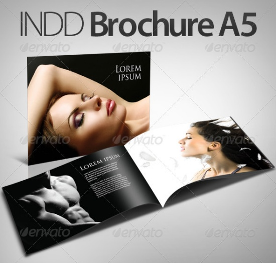 InDesign Brochure - Booklet A5