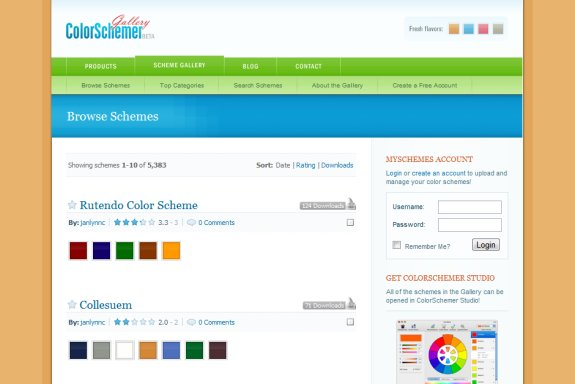 ColorSchemer Gallery