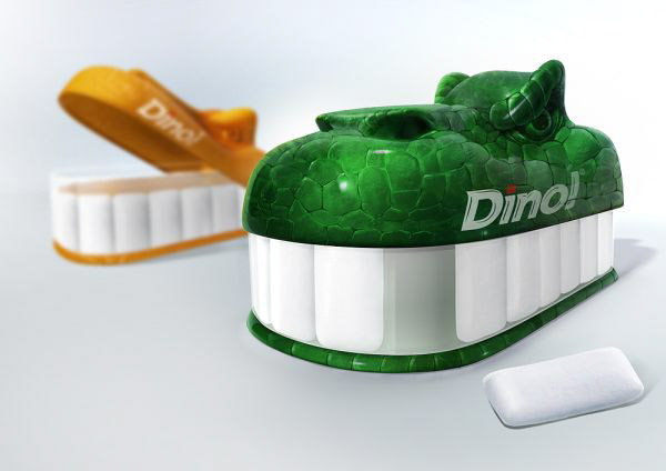 dino 36 Clever (and Quirky) Packaging Designs