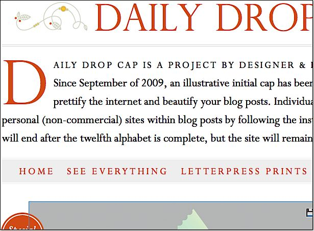 Drop Caps WordPress plug-in