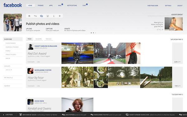 facebook photos page barton smith 18 Cool Concept Designs (Facelift) of Notable Websites