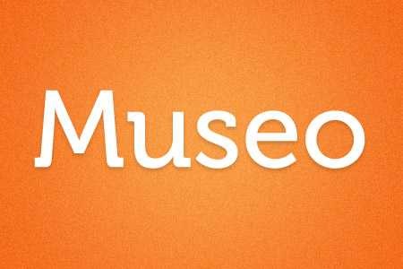 Download the Museo font