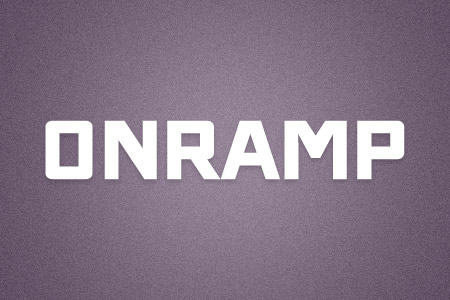 Download the ONRAMP font