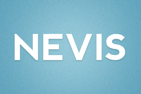 Download the Nevis font