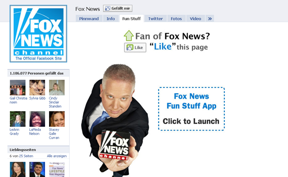 fox news beautiful facebook site