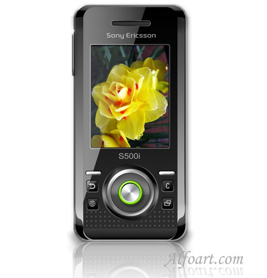 Sony Ericsson S500 Photoshop Tutorial