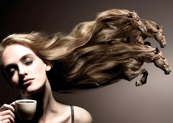 Beautiful Girls in Amazing Photo Manipulation