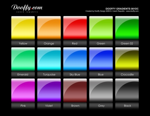 Doofy Gradients Set 001
