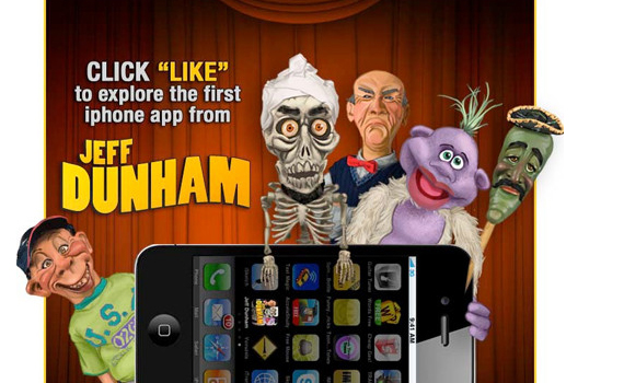jeff dunham beautiful facebook site