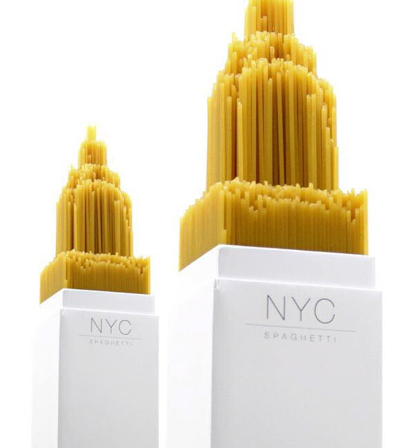 nyc spaghetti 36 Clever (and Quirky) Packaging Designs