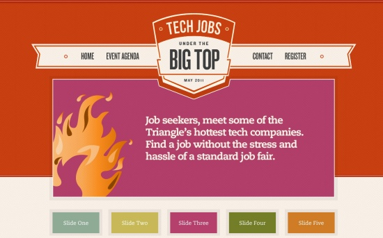 Tech Jobs Under the Big Top