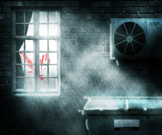 Create a Dark and Rainy Crime Scene in Photoshop