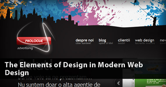 The Elements of Design in Modern Web Design