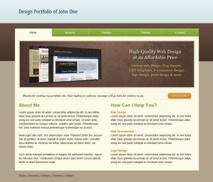 How to Code a Clean Portfolio Design