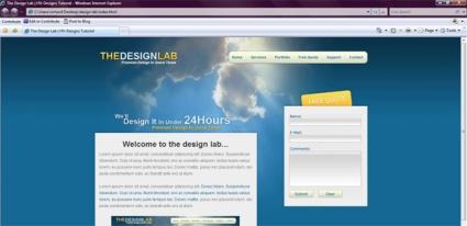 The Design Lab: PSD Conversion
