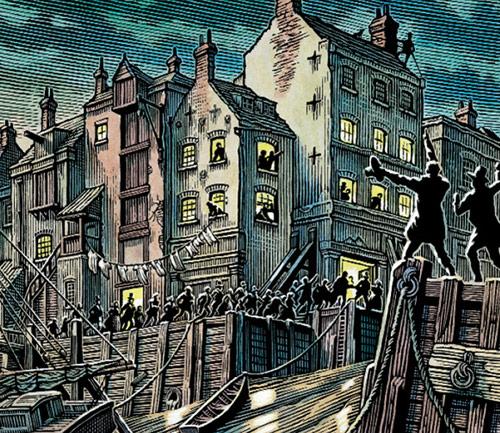 Line Art - Bill Sanderson