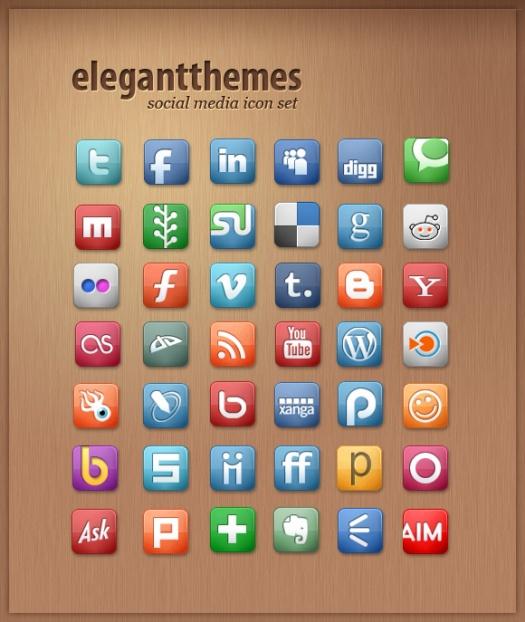 ElegantThemes Social Media Icons