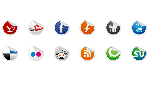 vorschau1 Social Media Icons Part 2 – 300 Icons