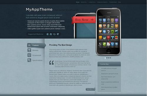 MyApp WordPress Theme