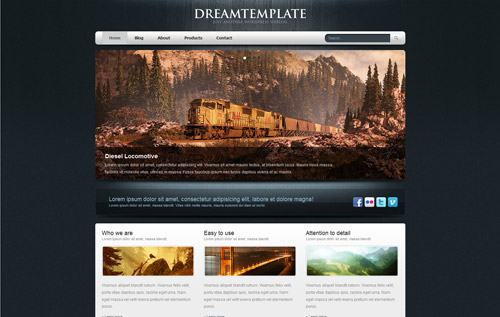 bluewood WordPress Theme