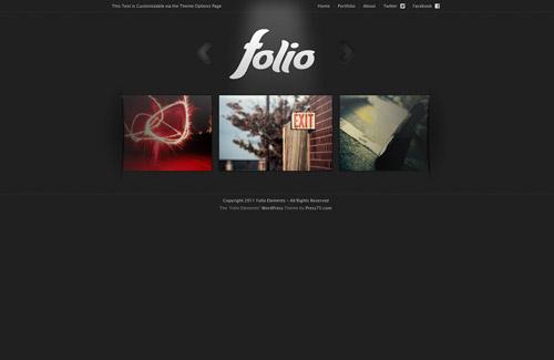 Folio Elements theme