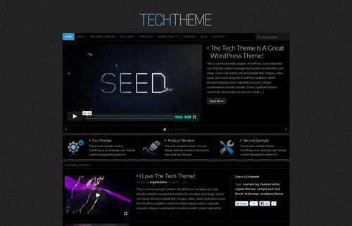 Tech Theme